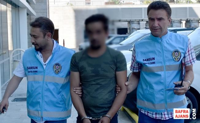İstanbul'da İş Yerinden Çaldığı Otomobille Samsun'da Yakalandı