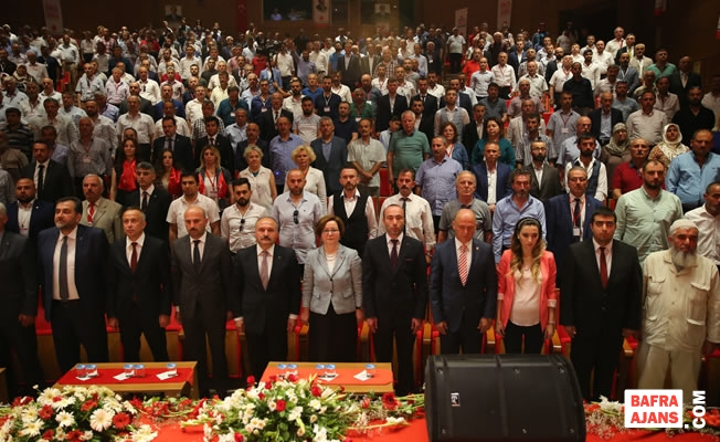 MHP Samsun İl Başkanı Tekin, Yeniden Başkan Seçildi
