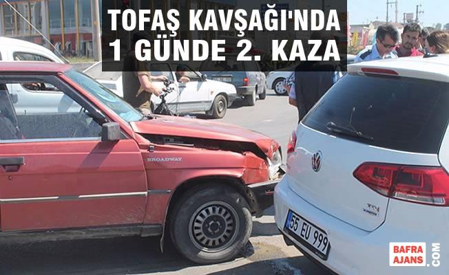 Tofaş Kavşağında 1 Günde 2. Trafik Kazası