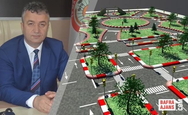 19 Mayıs İlçesi'ne Çocuk Trafik Eğitim Alanı