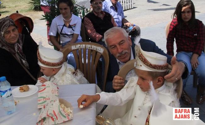 Alaçam Belediyesinden 9. Sünnet Şöleni