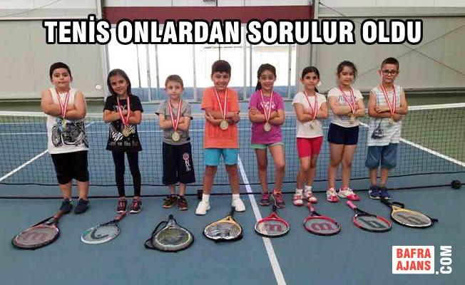 Geleceğin Tenisçileri Özel Bafra AK Okullarında Yetişiyor