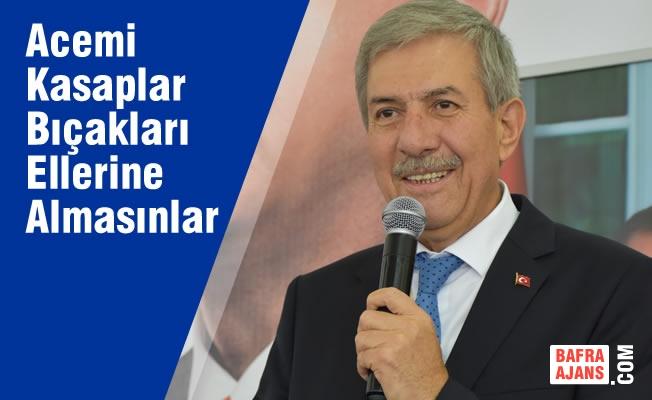 """Sağlık Bakanı Demircan'dan """"Acemi Kasaplara"""" Uyarı"""