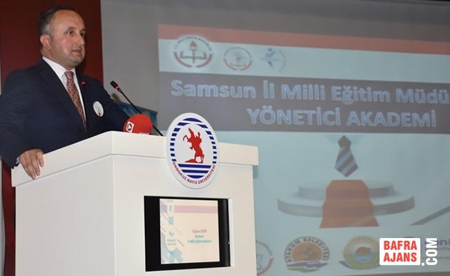 Samsun'da Okul Müdürlerine Yönetim ve Liderlik Eğitimi