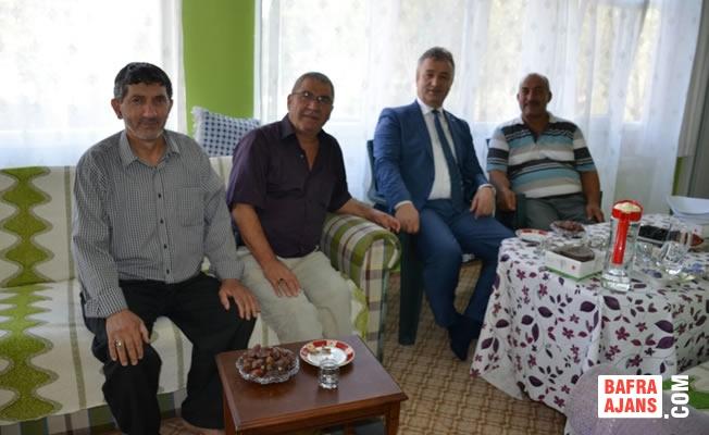 Başkan Topaloğlu; Hacı Ziyaretlerine Devam Ediyor