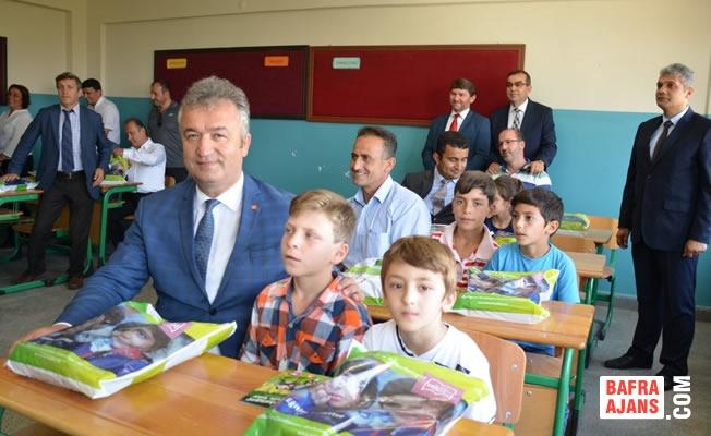 Başkan Topaloğlu; Yeni Eğitim ve Öğretim Yılına Öğrencilerle 'Merhaba' Dedi