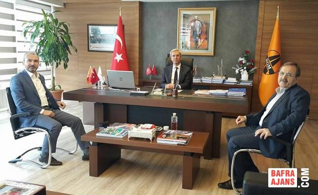 """Başkan Zihni Şahin; """"Her Şey Bafra İçin"""""""