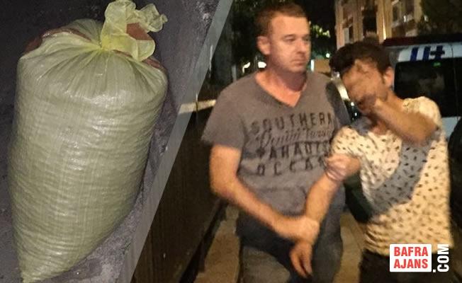 Fındık Hırsızı İşbaşında Polise Yakalandı