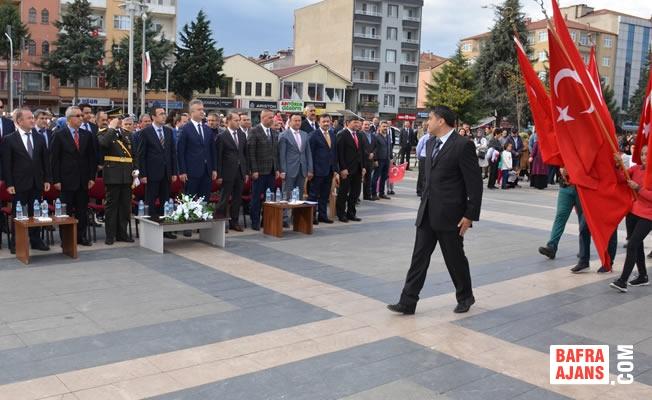 19 Mayıs İlçesinde Cumhuriyet Bayramı Kutlaması