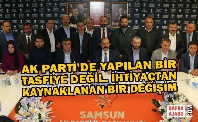 AK Parti Samsun İl Başkanı Göksel Gündemi Değerlendirdi