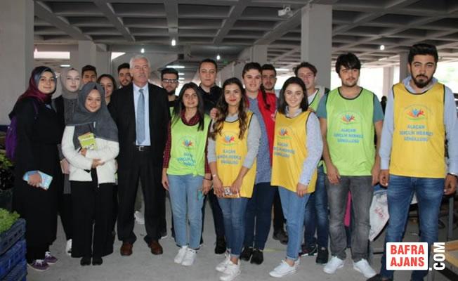 Alaçam'da 'Gençlerin İyilik Ağacı' Projesi