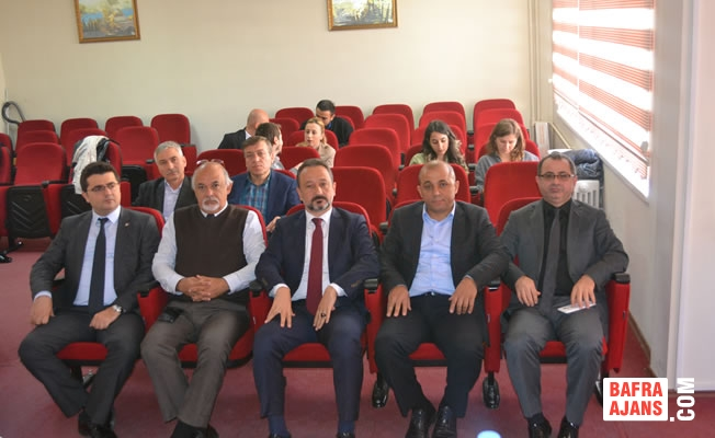 Bafra TSO'da Samsun Metal Tanıtım Toplantısı