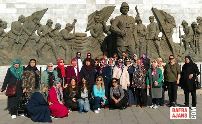 Bafralı Kadınlar Çanakkale Gezisinde