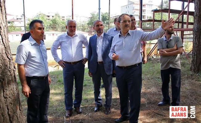 Bafra'ya Yeni Ağız ve Diş Sağlığı Merkezi Yapılacak