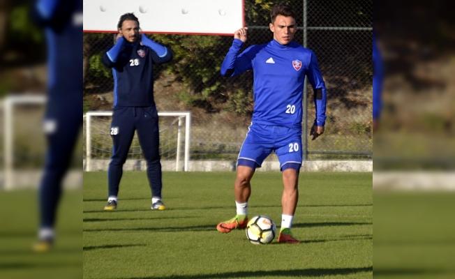 Kardemir Karabükspor'da Kayserispor maçı hazırlıkları