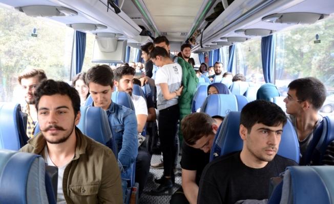 Sürücü rahatsızlanınca Orhan Hoca kazayı önledi