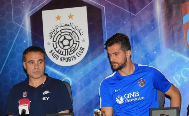 Trabzonspor- El Sadd maçına doğru