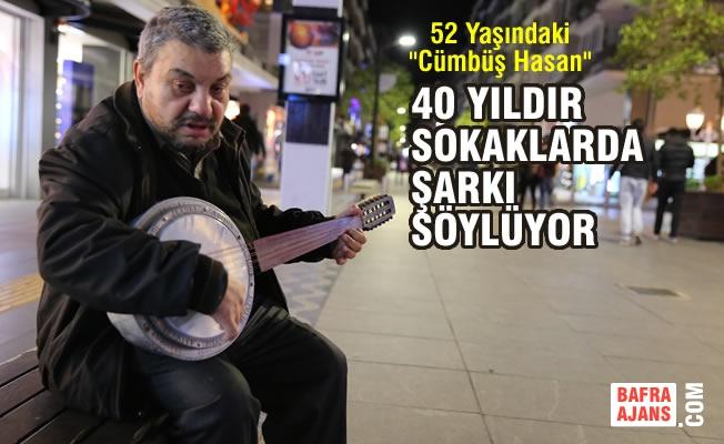 40 Yıldır Sokaklarda Şarkı Söylüyor