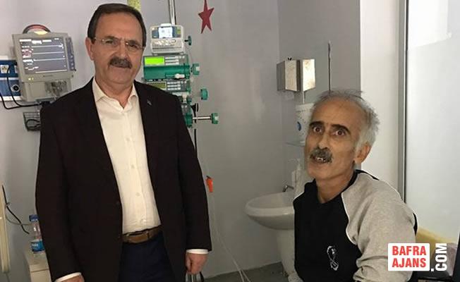 Başkan Şahin; Bafralı Sanatçı Gürgür İçin Çağrı Yaptı