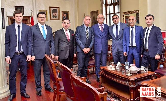 Başkan Yılmaz'dan Batum'a Kardeş Şehir Teklifi