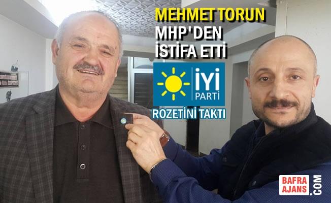 Belediye Meclis Üyesi Mehmet Torun MHP'den İstifa Etti