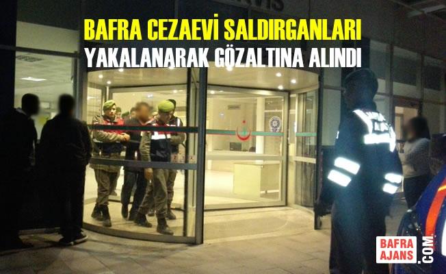 Cezaevi Saldırganları Yakalanarak Gözaltına Alındı