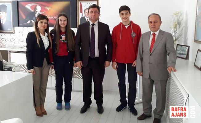 Özel Bafra AK Okulları'ndan Kaymakam Türkel'e Ziyaret