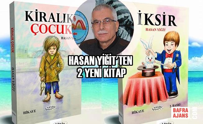 Bafralı Yazar Hasan Yiğit'ten 2 Yeni Kitap