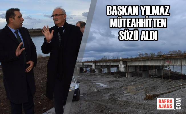 Büyükşehir; Bafra'da 2. Köprüyü Hizmete Açıyor