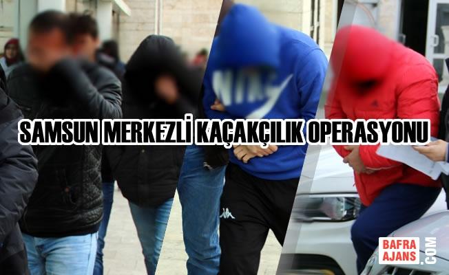 Kaçakçılık Operasyonunda Gözaltına Alınan 4 Zanlıdan 2'si Tutuklandı