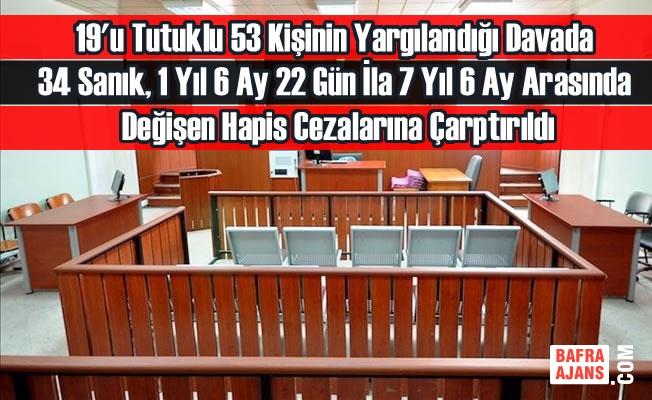 Samsun'da 34 Öğretmene FETÖ/PDY'den Ceza Yağdı