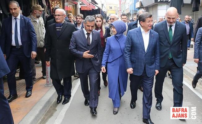 Eski Başbakan Ahmet Davutoğlu Samsun'da