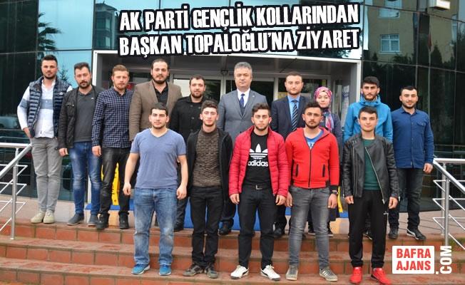 AK Parti Gençlik Kollarından Başkan Topaloğlu'na Ziyaret