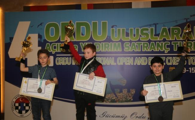 4. Ordu Uluslararası Açık ve Yıldırım Satranç Turnuvası