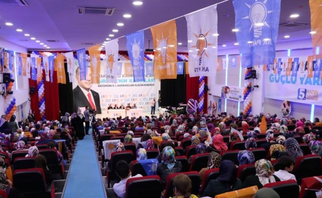 AK Parti Kastamonu İl Kadın Kolları 5. Olağan Kongresi