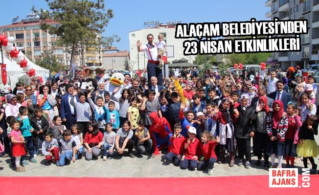 Alaçam Belediyesi'nden 23 Nisan Etkinlikleri