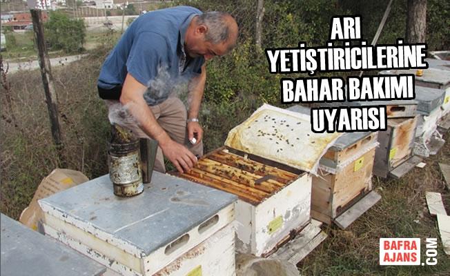 Arı Yetiştiricilerine Bahar Bakımı Uyarısı