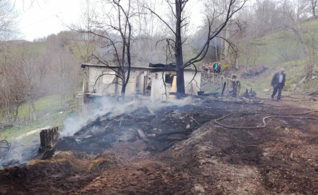 Ordu'da ev yandı: 1 ölü