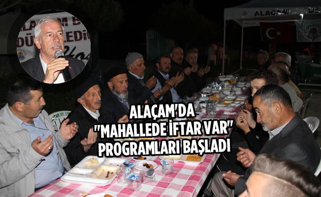 """Alaçam'da """"Mahallede İftar Var"""" Programları Başladı"""