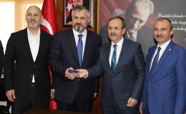 Bafra Belediye Başkanı Hamit Kılıç; Görevi Devraldı