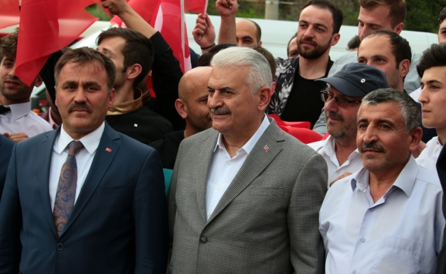 AK Parti'nin Gümüşhane mitingi