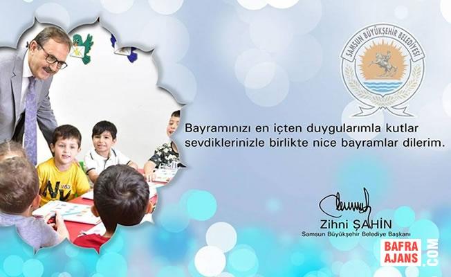 Başkan Zihni Şahin'den Ramazan Bayramı Mesajı