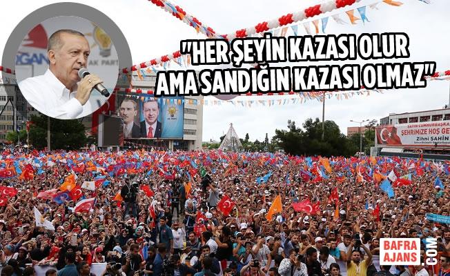 Cumhurbaşkanı Recep Tayyip Erdoğan Samsun'da Konuştu
