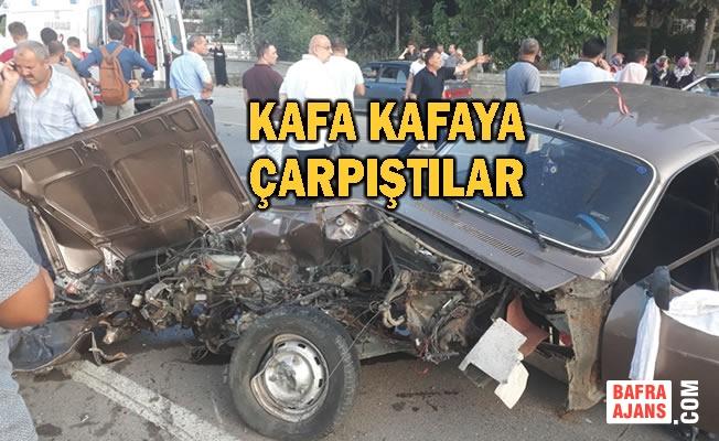 19 Mayıs İlçesinde Trafik Kazası; 5 Yaralı