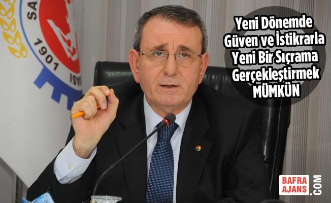 """Murzioğlu: """"Güven Ve İstikrarla Yeni Bir Sıçrama Gerçekleştirmek Mümkün"""""""