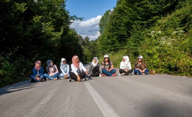Suriyeli öğrenciler Bolu'nun doğal güzelliklerinde buluştu