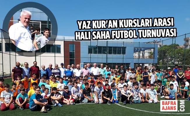 Yaz Kur'an Kursları Arası Halı Saha Futbol Turnuvası