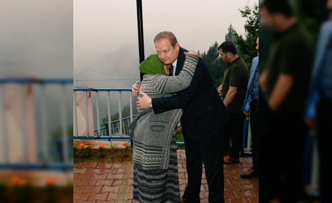 Vali Yavuz'dan Eren Bülbül'ün ailesine ziyaret