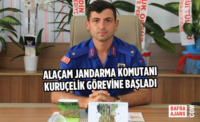 Alaçam İlçe Jandarma Komutanı Kuruçelik Görevine Başladı
