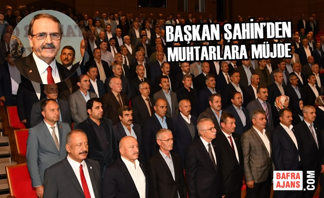 """Başkan Şahin: """"Samsun'nun Potansiyelleri Çok Fazla"""""""